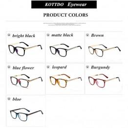 fe305a9817195 Kottdo Glasses Women Retro Vintage Reading Eyeglasses Frame Men Glasses  Optical Tenis Feminino Oculos De Grau