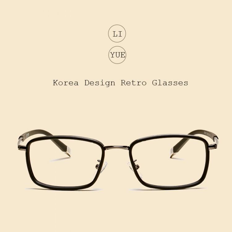 5ae12347f5d LIYUE 2017 Fashion men optical glasses Style vintage eyeglasses clear  Computer glasses Prescription eyewear Spectacles FrameGlasses Frames